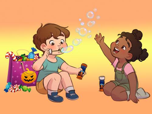 Financez 2 animations Halloween pour les enfants des Foyers de Paris