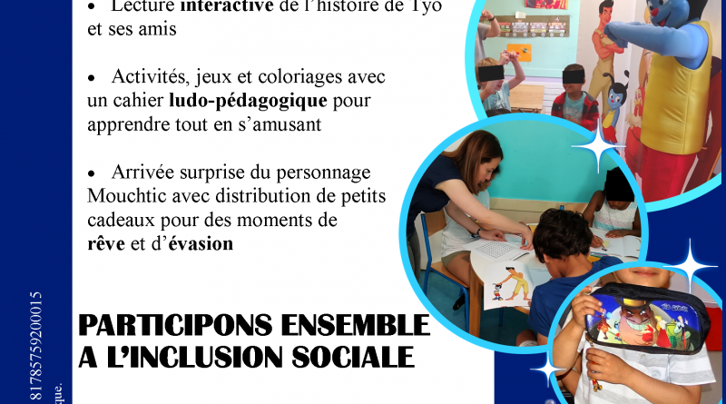 Le nouveau flyer de l'association disponible !