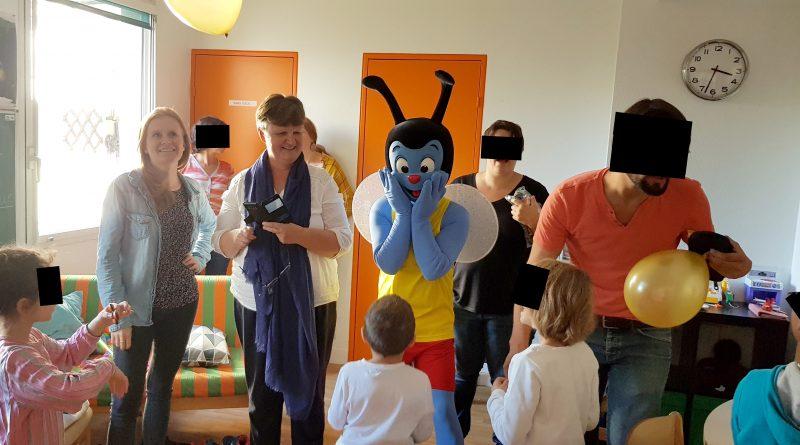Les enfants du SAJE ont rencontré Mouchtic