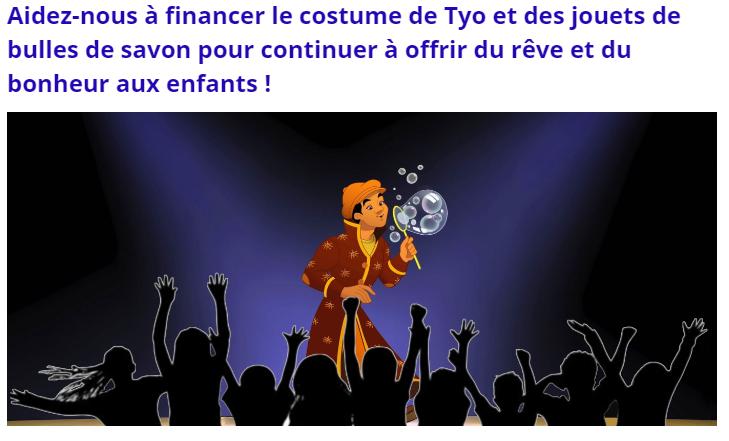Offrir du rêve et du bonheur aux enfants des foyers de Paris